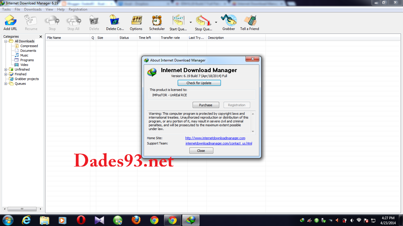 Internet Download Manager 6.19 Build 7 Full Crack