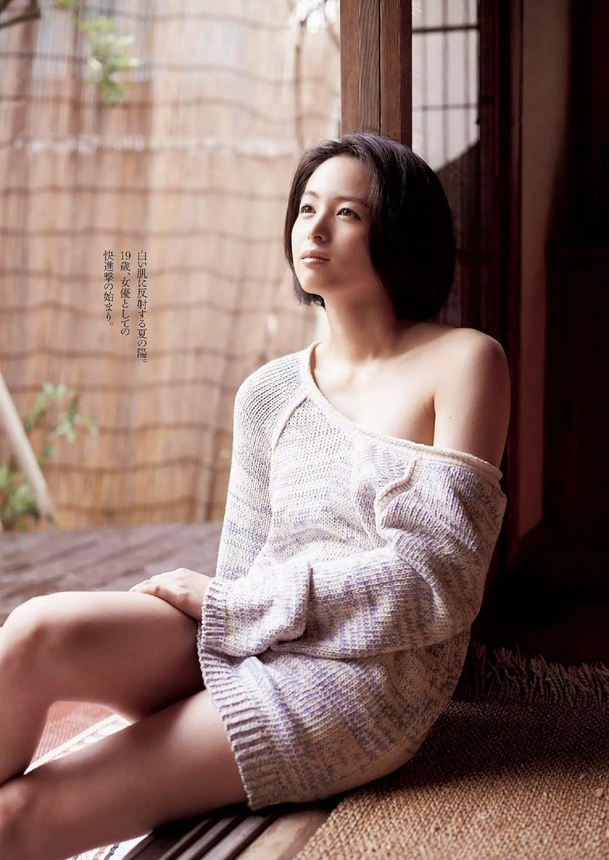 Seino Nana 清野菜名 Weekly Playboy July 2014 Photos 2