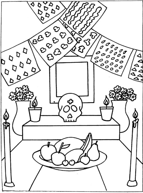 Docenteszona24: Dibujos para colorear Noviembre