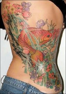 Japanese Koi Fish Tattoo Design - A Lucky Choice