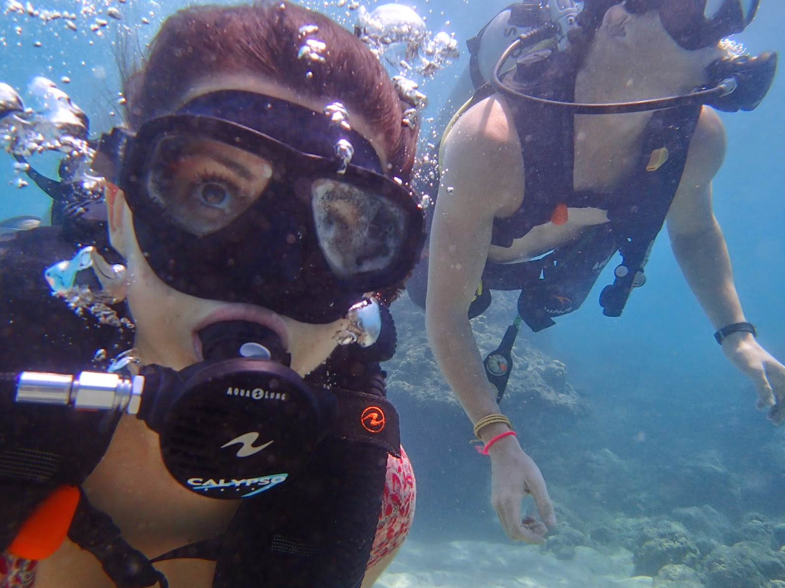 Diving in Kata Beach, Phuket