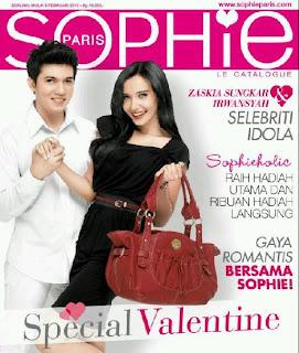Katalog Sophie Martin Paris terbaru edisi Februari - Maret 2012 sudah
