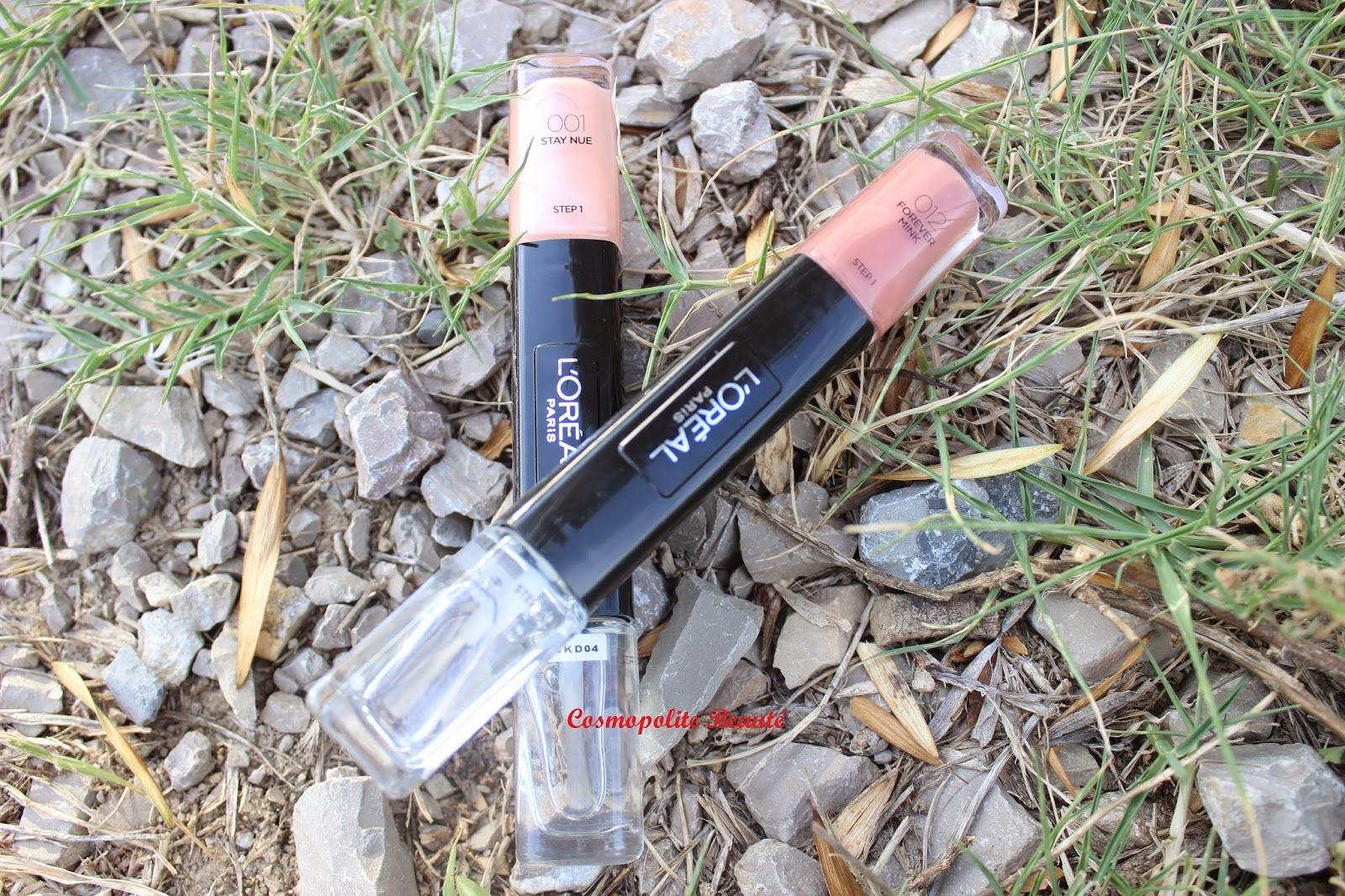 vernis, les Infaillibles gel duo, L'Oréal, tenue 12 jours