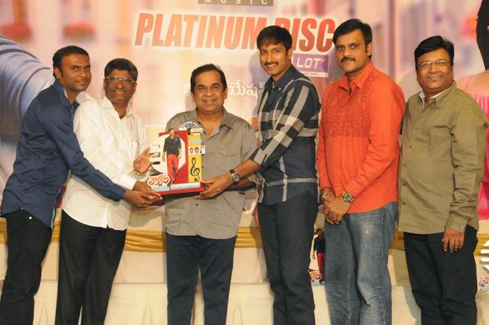 Loukyam Movie Platinum Disc Function Photos