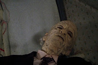 Grandpa from The Texas Chainsaw Massacre (1974) having a nap