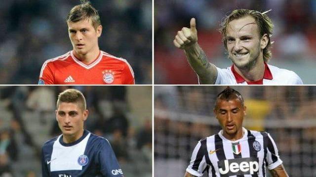 4 لاعبين يريد ريال مدريد التعاقد معهم