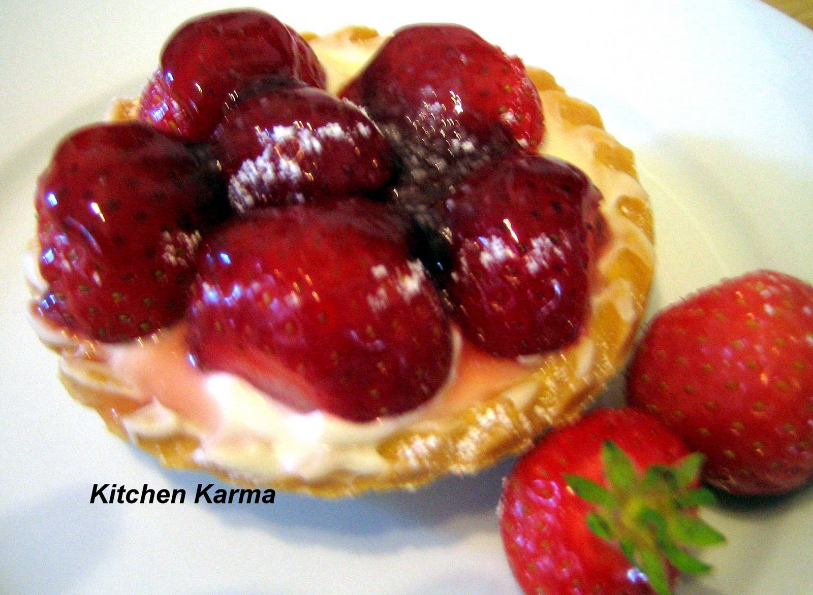 Strawberry Tarts....