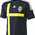 Adidas apresenta o novo uniforme reserva da Suécia