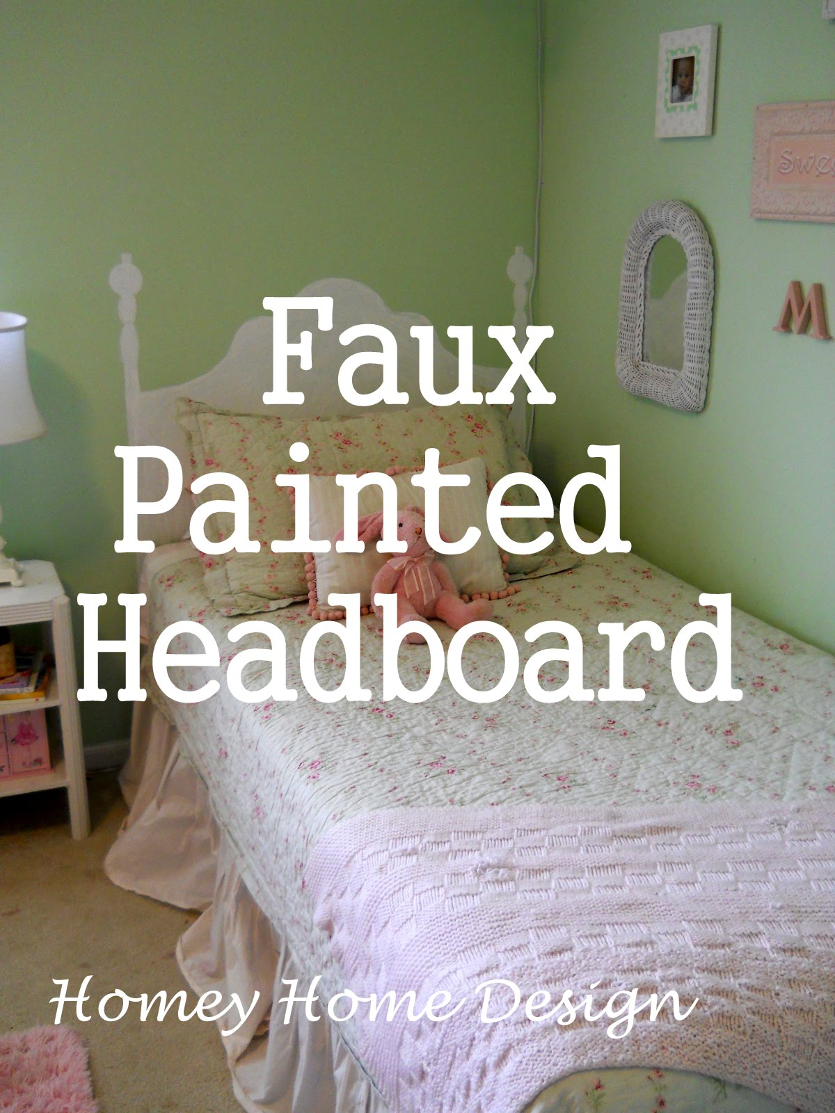 Painted Headboard Ideas Part - 21: It Was Really Cheap {$15.00} But When I Saw It I Knew I Could Paint A  Headboard For Even Cheaper! {Thanks For The Idea Sue!}