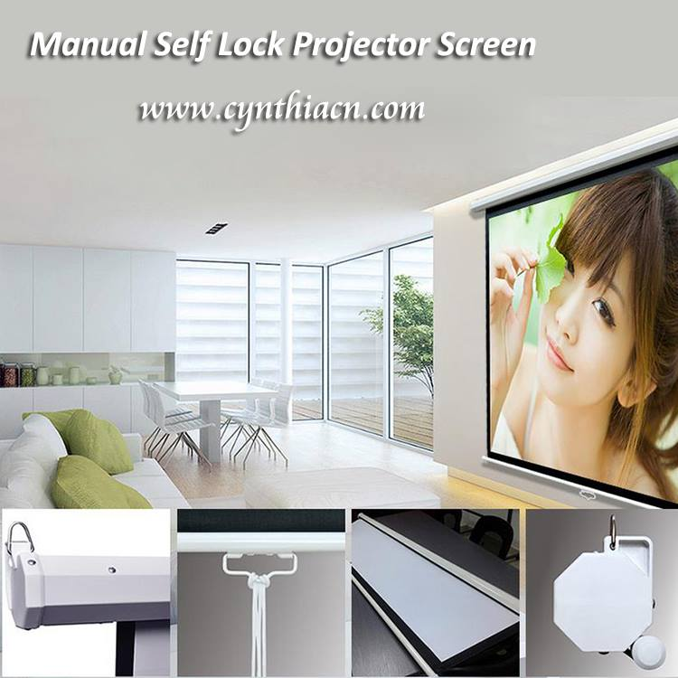 Turun Harga Screen Proyektor Manual
