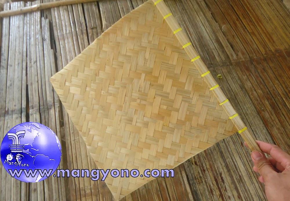 Hihid / Kipas Bambu, Alat Dapur Tradisional Indonesia