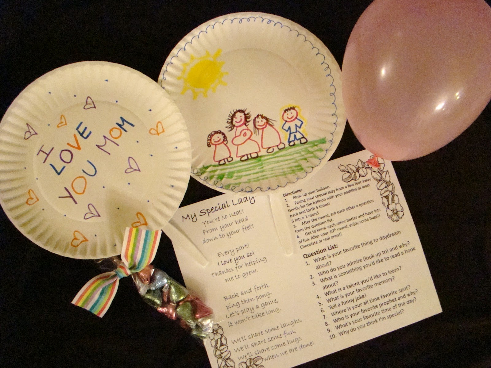 sofia's primary ideas: 2012 lds primary mother's day gift idea