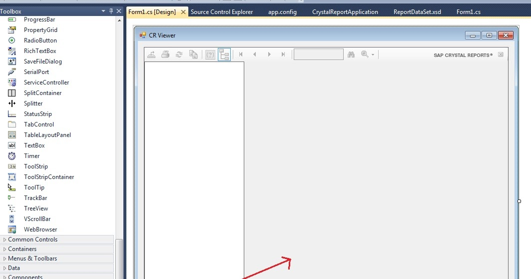how to build a report in crystal reports 11