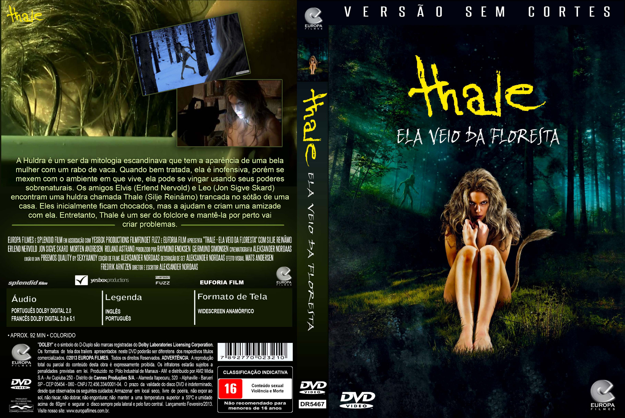 Download Segredo Sombrio DVDRip XviD Dual Áudio Capa   Thale   Ela Veio Da Floresta