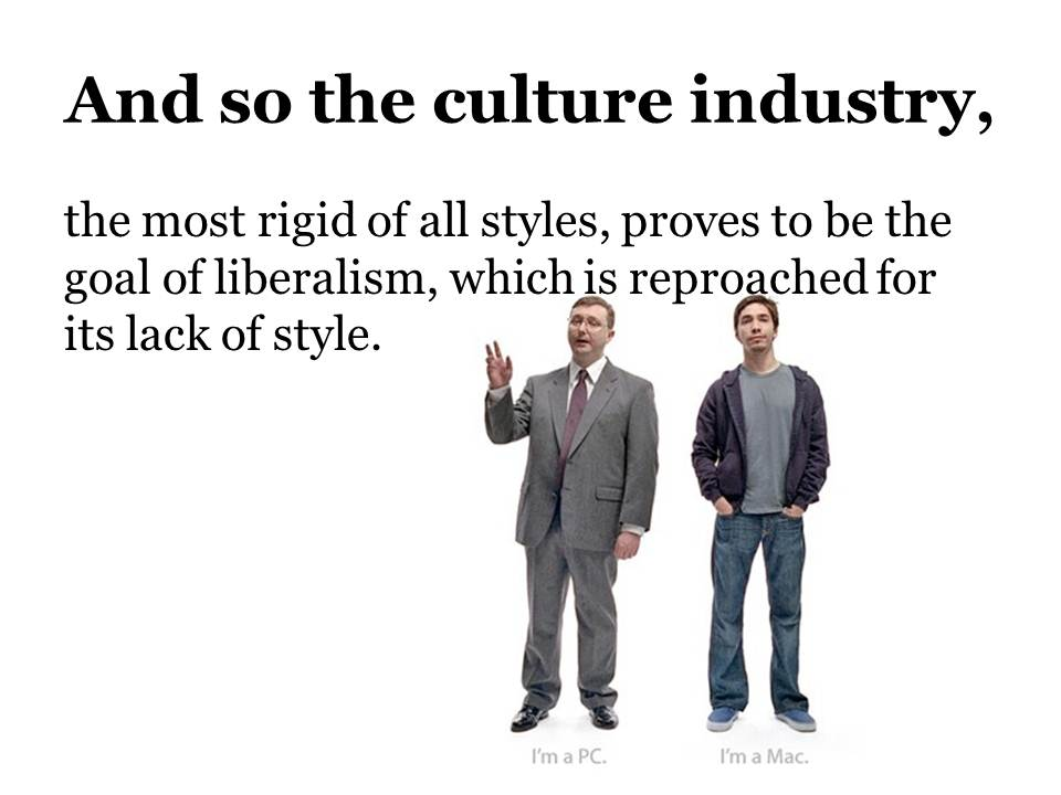 adorno horkheimer culture industry thesis