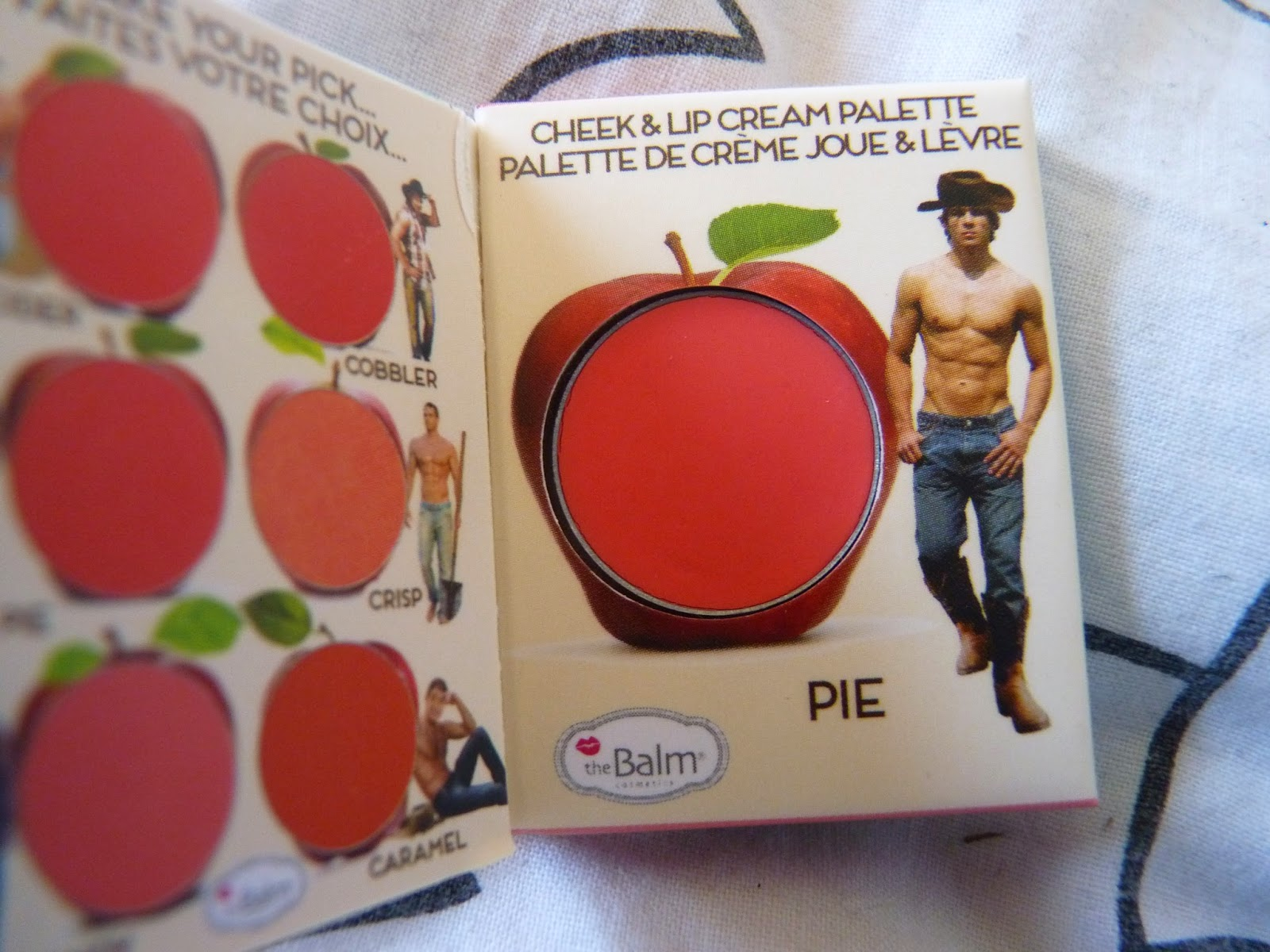 the balm, teinte pie