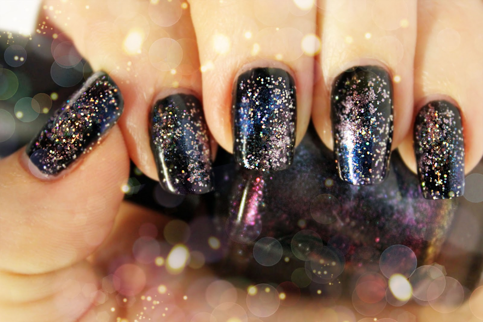 little pieces: DIY Galaxy Nails...
