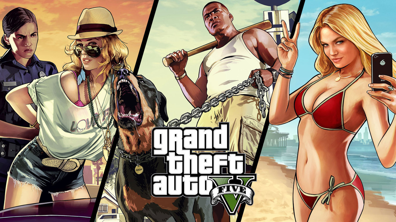 Group Of Gta V Girls Wallpaper