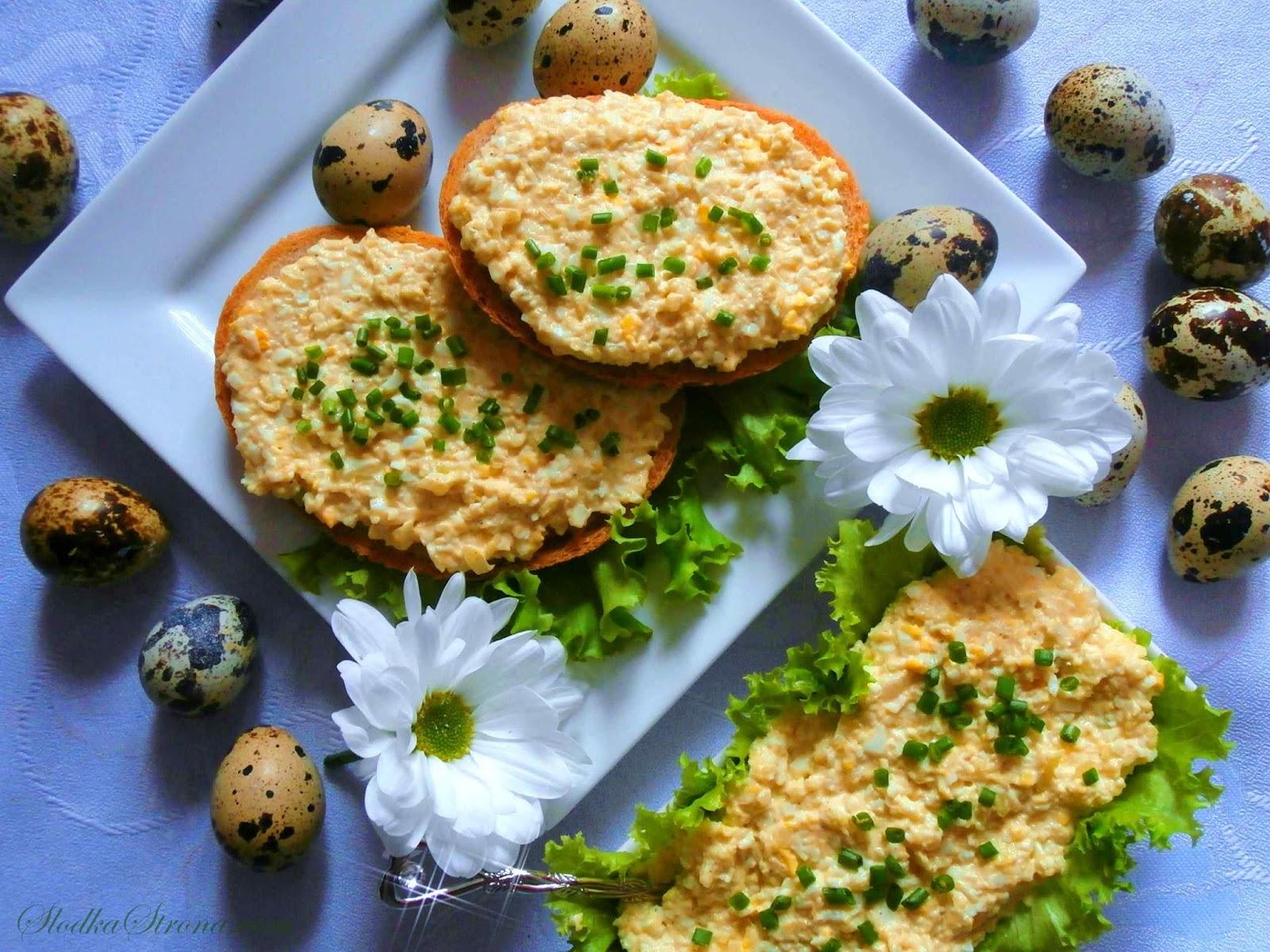 Pasta Jajeczna - Przepis - Słodka Strona