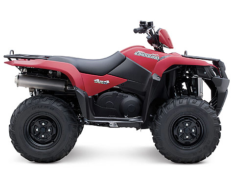 2013 Suzuki KingQuad 500AXi Power Steering 30th Anniversary Edition ATV pictures. 480x360 pixels