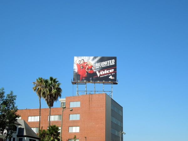 Voice season 5 NBC billboard
