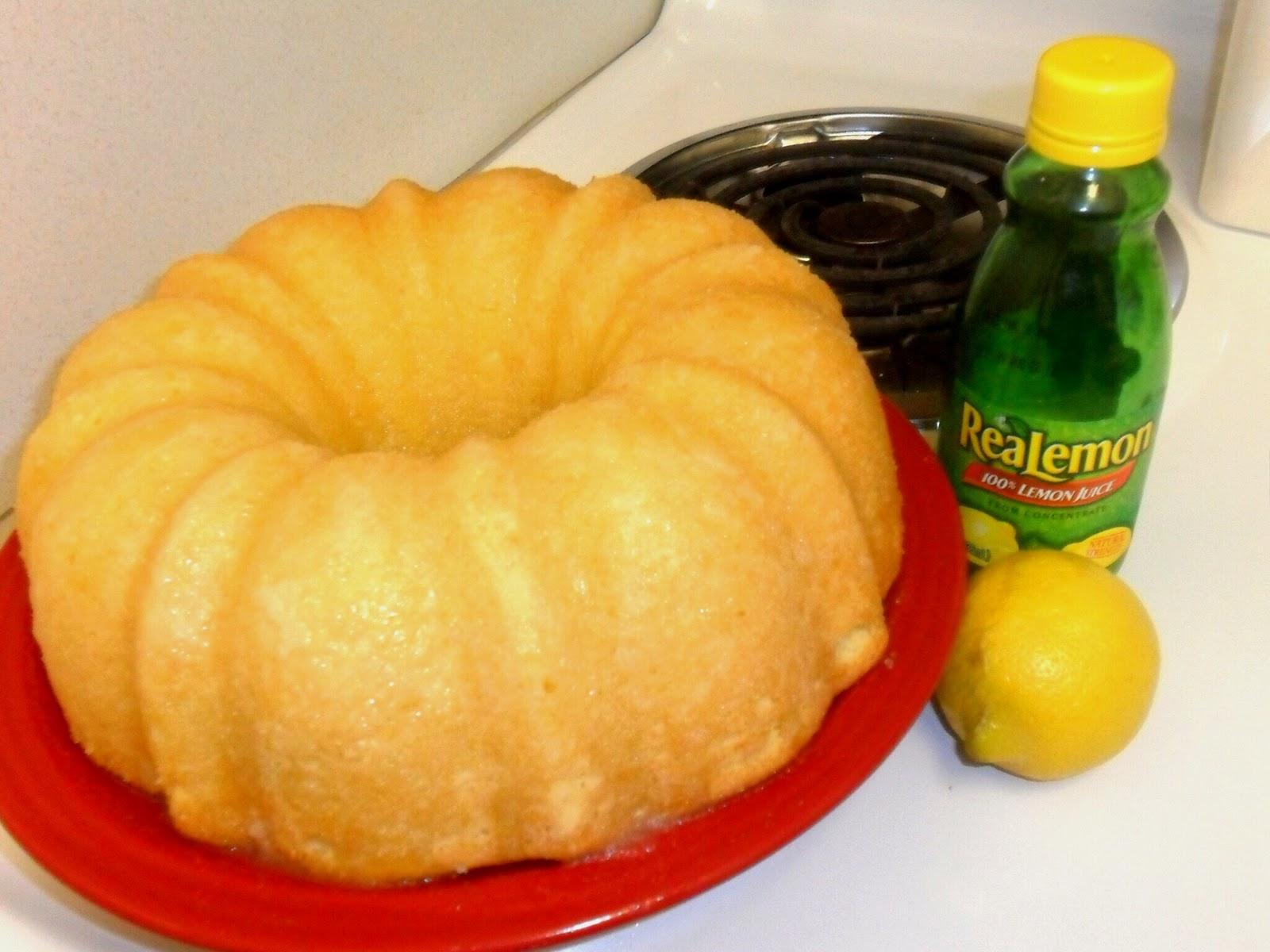 how to make lemon sauce for cake