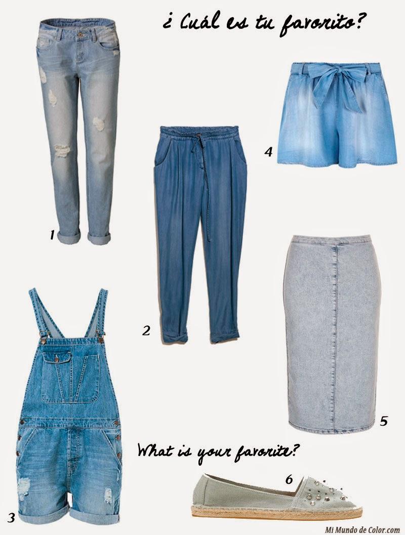 moda mujer 2015 el jeans