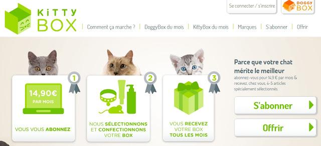 NOUVEAU: la Kittybox, la box surprise pour votre chat