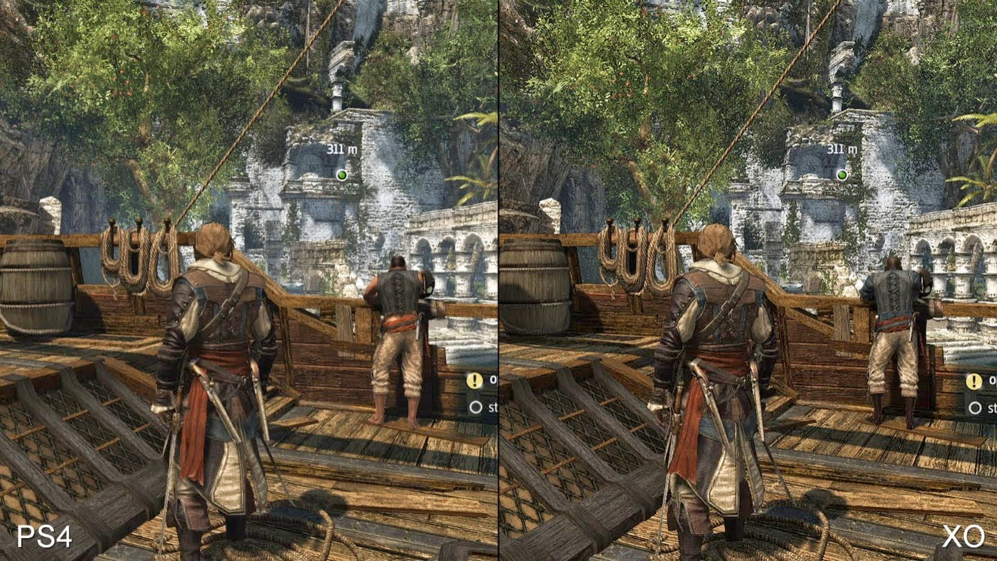 PS4 vs Xbox One graphics comparison