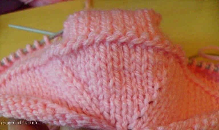 link correto: sapatinho de trico passo a passo