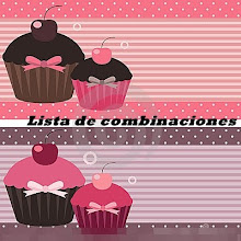 LISTA DE COMBINACIONES