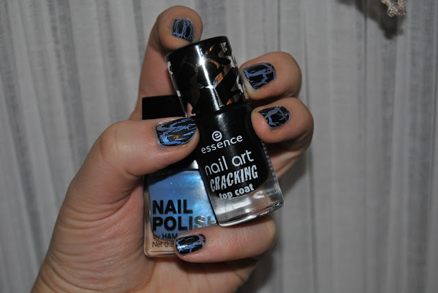 essence cracking top coat swatches