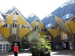 Weird Buildings - cubic houses