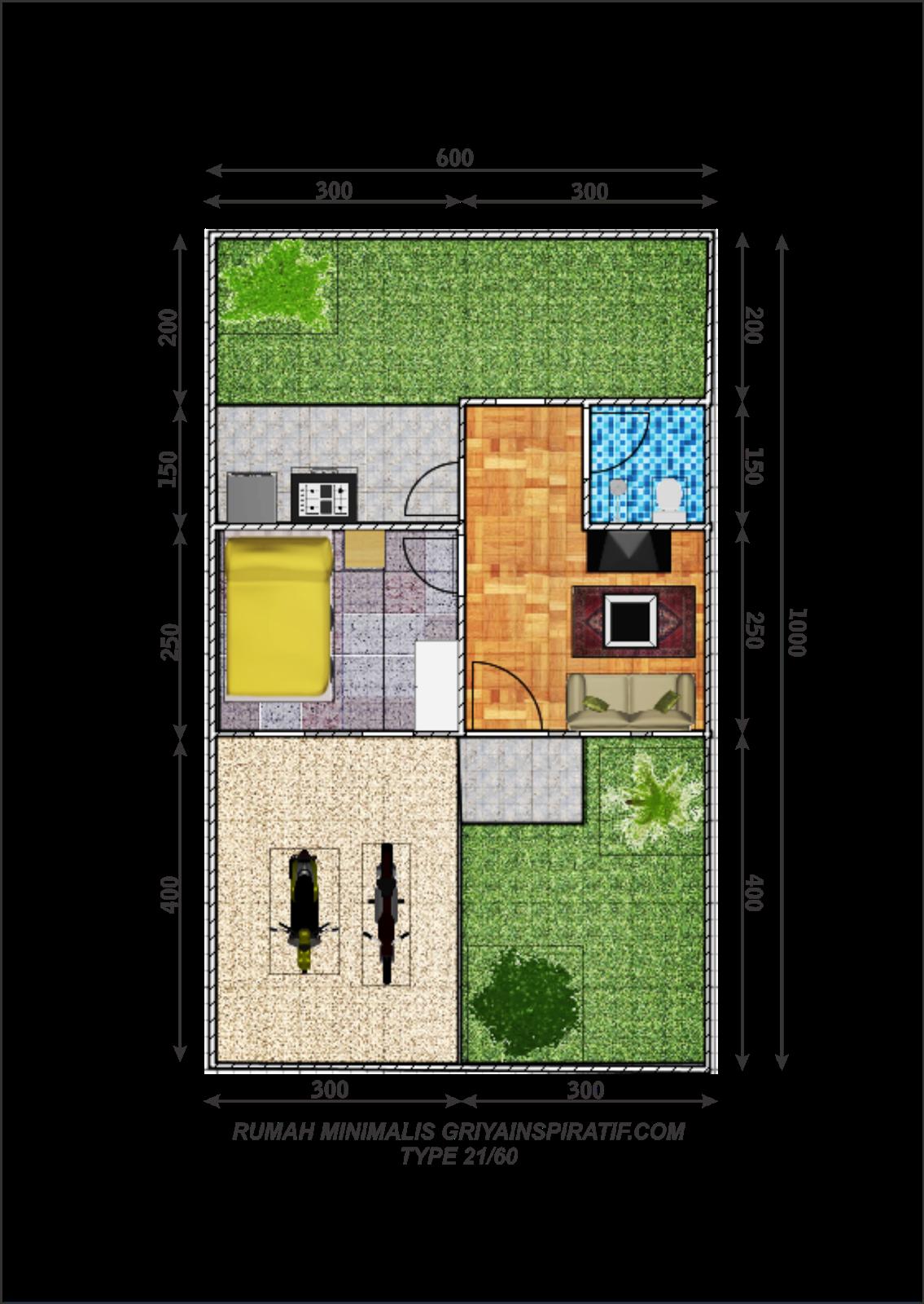 Interior Rumah Minimalis Sederhana Type 21 Dshdesign4kinfo