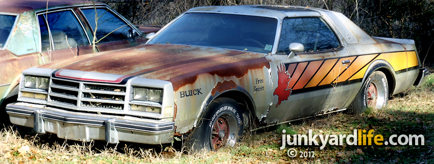 Cars In Yards 1976 Buick Century Free Spirit Indy Pace Car Needs A Boost Of Restoration Rehab
