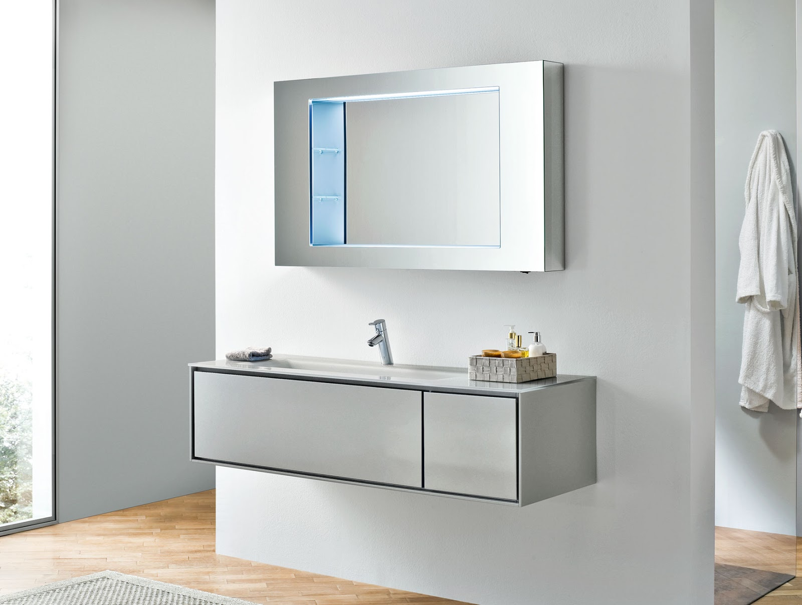 Brilliant Modern Bathroom Vanities Cabinets