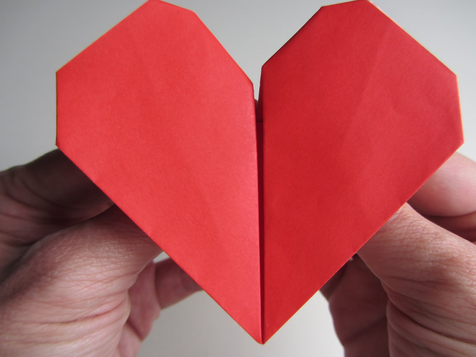 Origami instructions origami beating heart jeuxipadfo Image collections