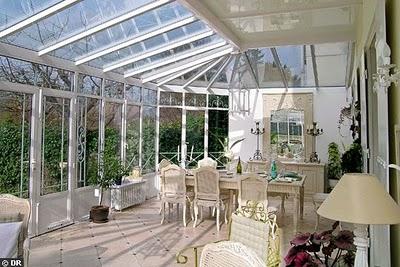 Cobertura telhado transparente