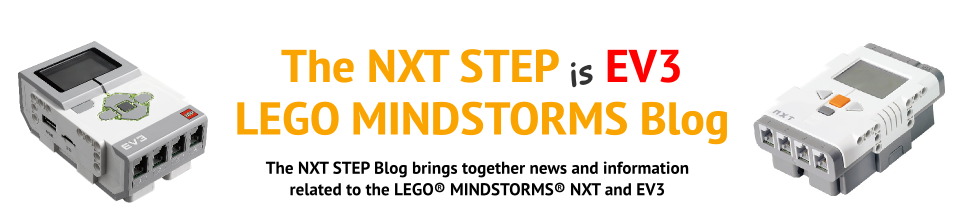 The NXT STEP is EV3 - LEGO MINDSTORMS Blog