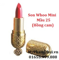 My pham Whoo - Son Mi Luxury Lipstick Mini - Son chng nhn Hong Cung mini