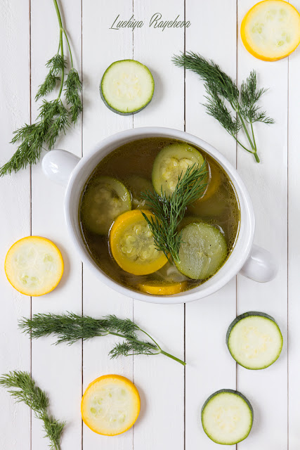 Супа с тиквички