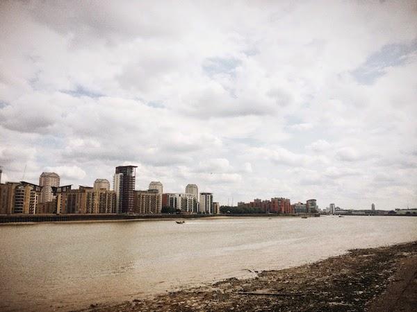 River Thames London August 2014