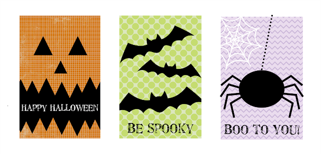 Printable Halloween Gift Tags & Stickers | The Twinery