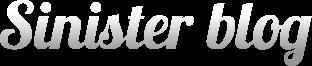 Sinister Blog