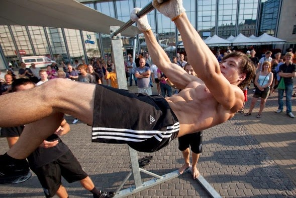 Street Workout Calisthenics Building Muscle