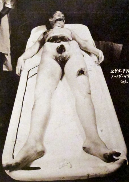 Elizabeth Short Murder Photos http://mondo-blogo.blogspot.com/2012/02/exquiste-corpse-surrealism-and-black.html