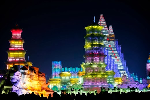 Ice and Snow Festival, Harbin city