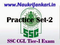 ssc cgl tier-I sample paper