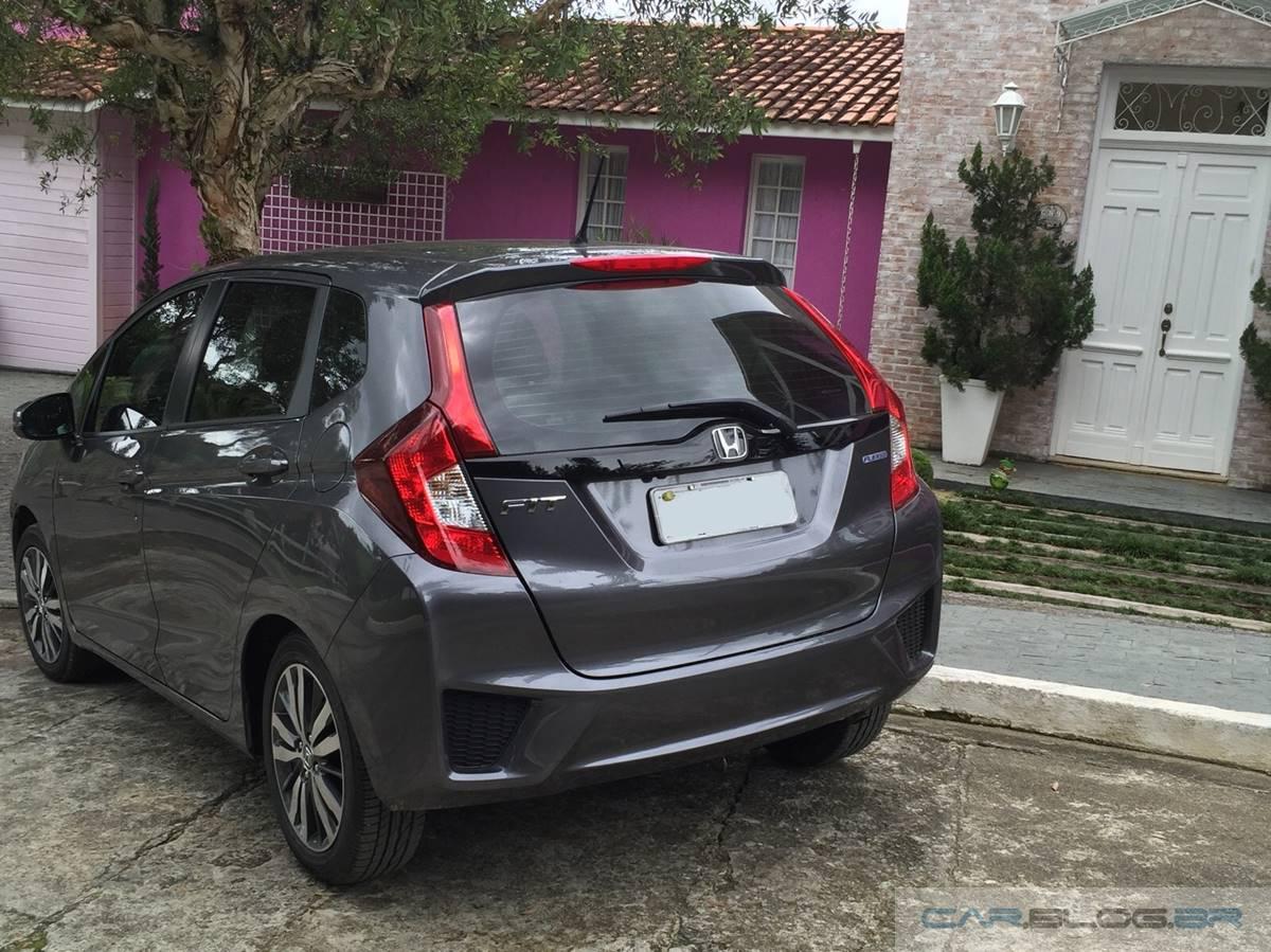 Honda FIT EX 2016 - teste de longa duração