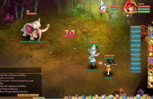 free browser based MMORPG called Warriors Saga based on chinese book